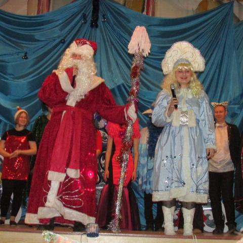 Новогодний концерт в СП №1
